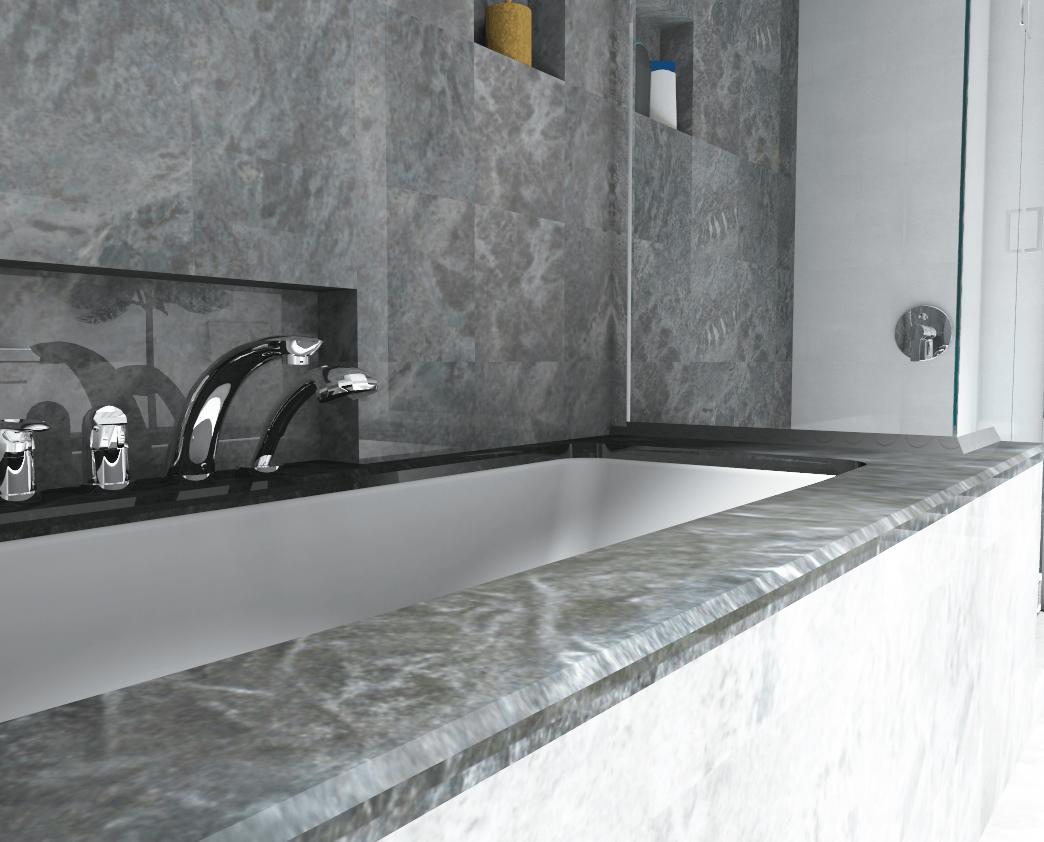 Natuursteen In Badkamer : Natuursteen badkamer palettecad